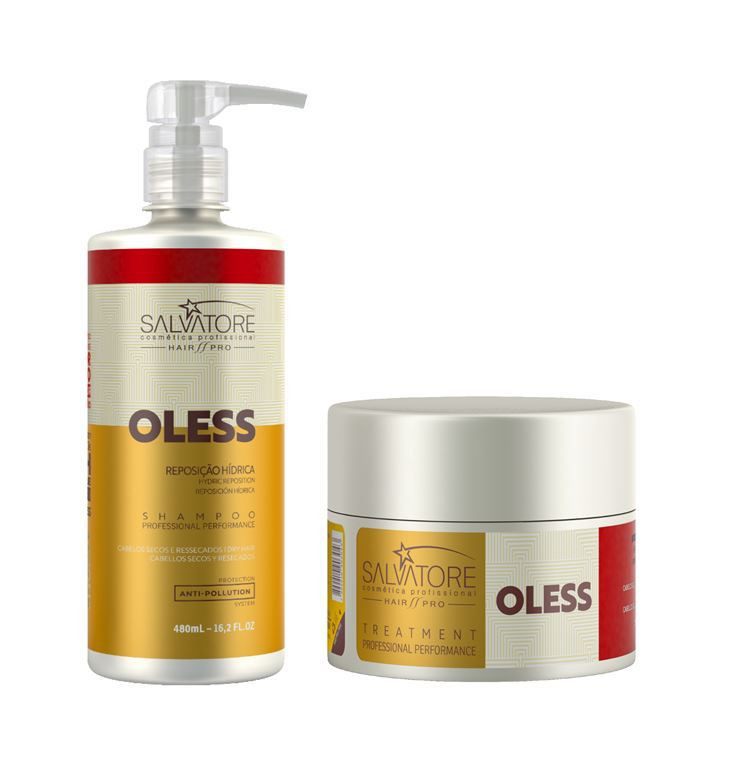 Kit Oless Shampoo + Condicionador Salvatore