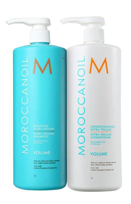 Kit Profissional Extra Volume  Moroccanoil 2x1000ml + BRINDE