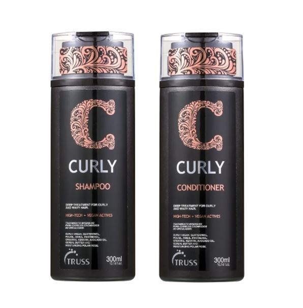Kit Shampoo + Condicionador Curly TRUSS 2 x 300 ml