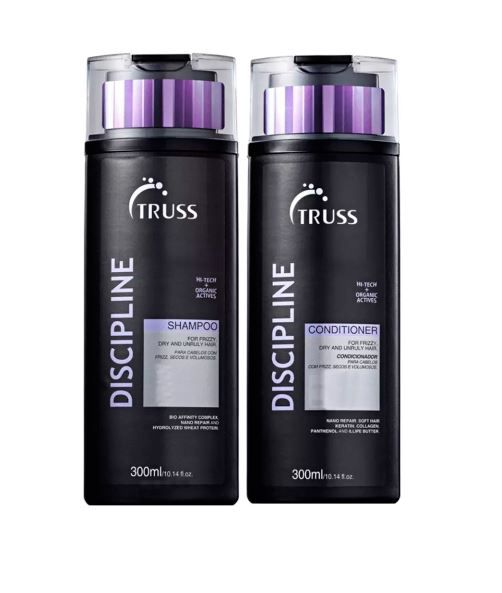 Kit Shampoo + Condicionador Discipline TRUSS 2 x 300 ml
