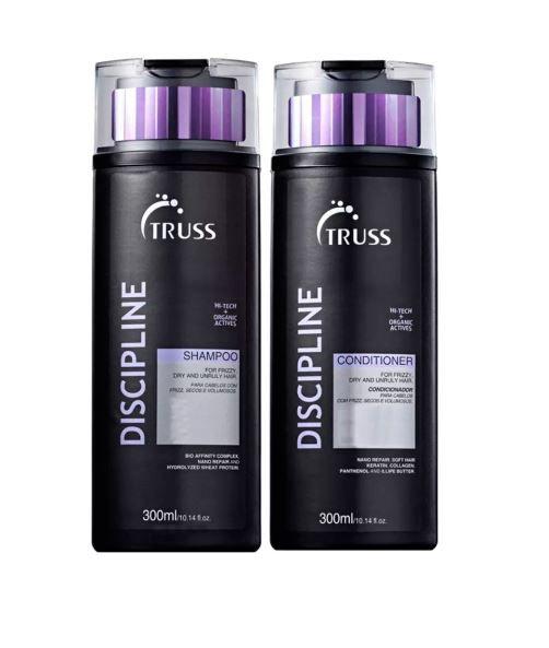Kit Shampoo + Condicionador Discipline TRUSS 2 x 300 ml