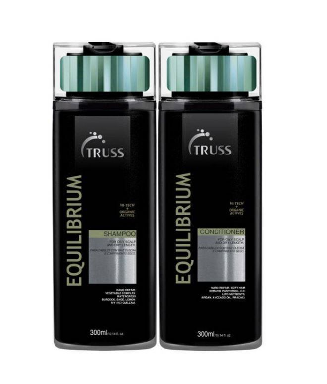 Kit Shampoo + Condicionador Equilibrium TRUSS 2 x 300 ml