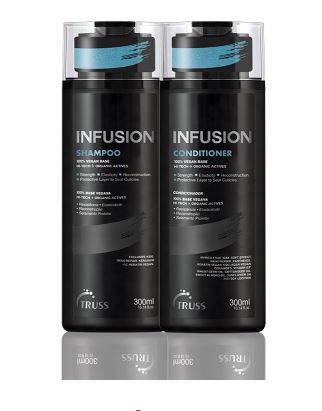 Kit Shampoo + Condicionador Infusion TRUSS 2 x 300 ml