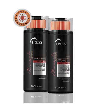 Kit Shampoo + Condicionador Miracle SUMMER TRUSS 2 x 300 ml
