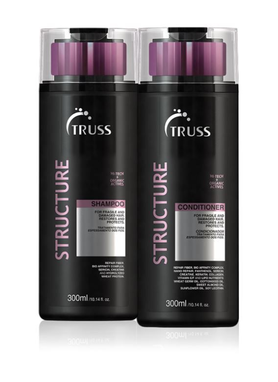 Kit Shampoo + Condicionador Structure TRUSS 2 x 300 ml