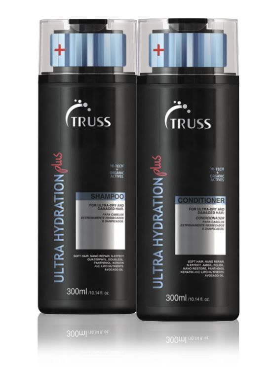 Kit Shampoo + Condicionador Ultra Hydration Plus TRUSS 2 x 300 ml