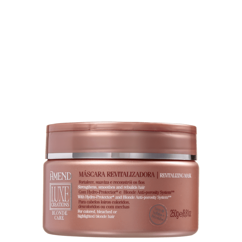 Máscara Luxe Creations Blonde Care Amend 250g