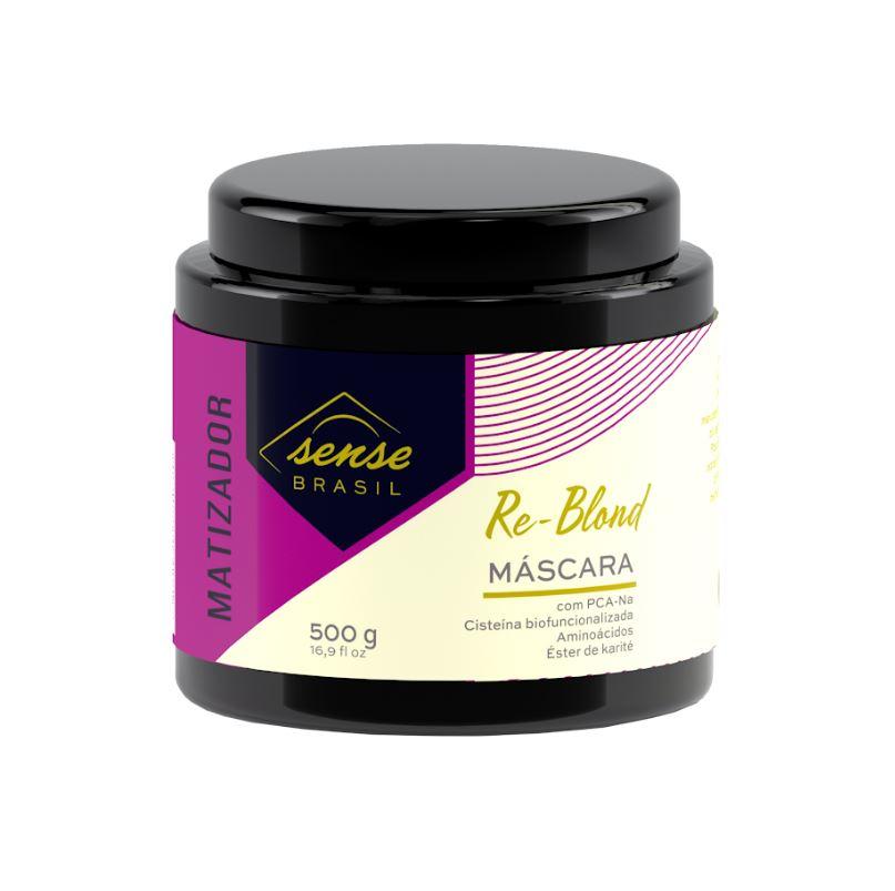 Máscara Matizadora Re-Blond Sense Brasil 500g