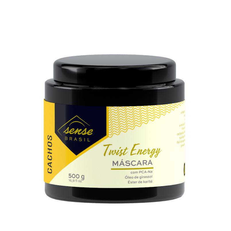 Máscara para Cachos Twist Energy Sense Brasil 500g