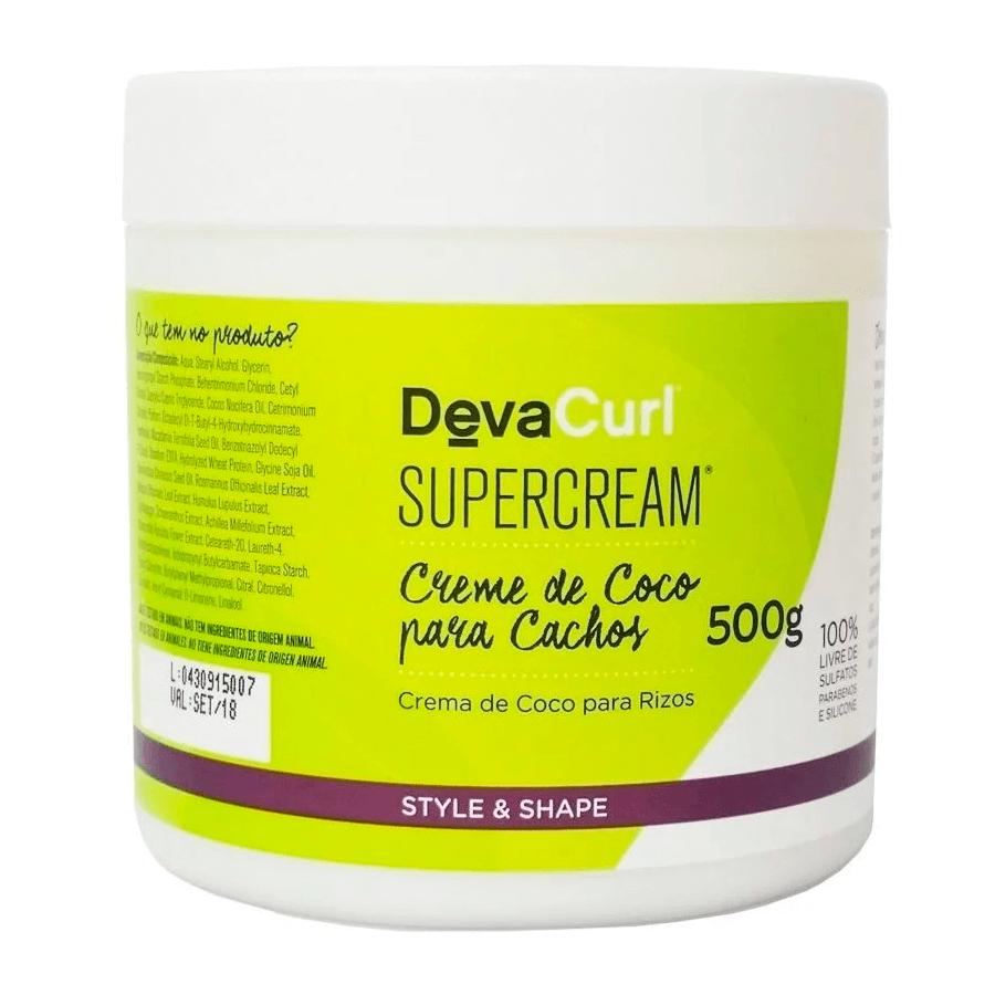 Modelador para Cachos - Deva Curl SuperCream para Cachos 500g