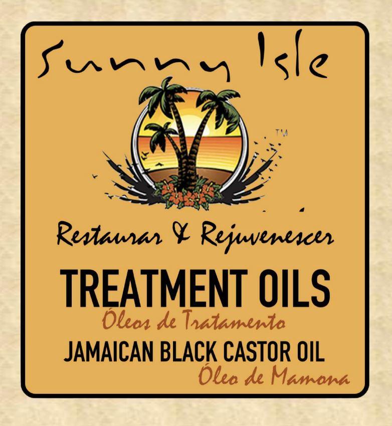 Óleo de Mamona Escuro Jamaicano Sunny Isle 118.2ml