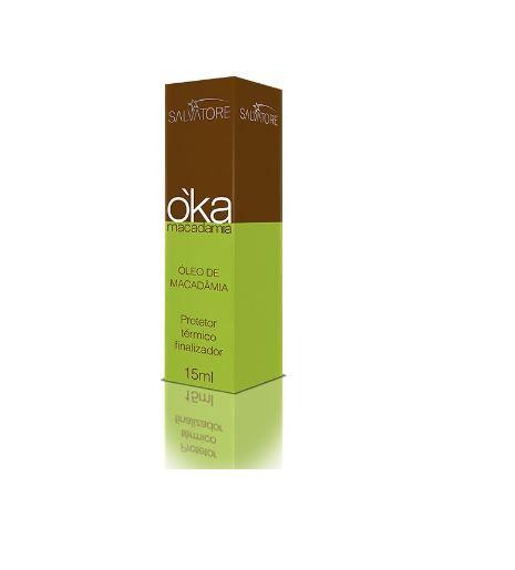 Óleo Oka Macadamia 15ml - Salvatore