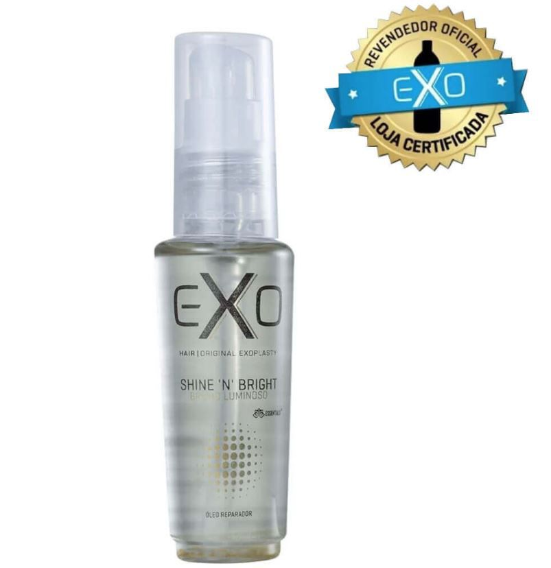 Óleo Reparador EXO Hair Shine 'n' Bright Oil 30ml