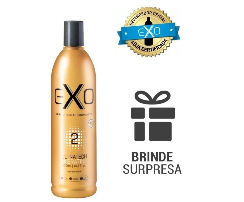 Progressiva Exo Hair Passo 2 Exoplastia 500 ml + BRINDE -BJ