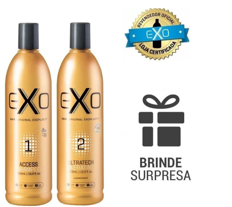 Progressiva Exoplastia Capilar Exo Hair 2 x 500ml