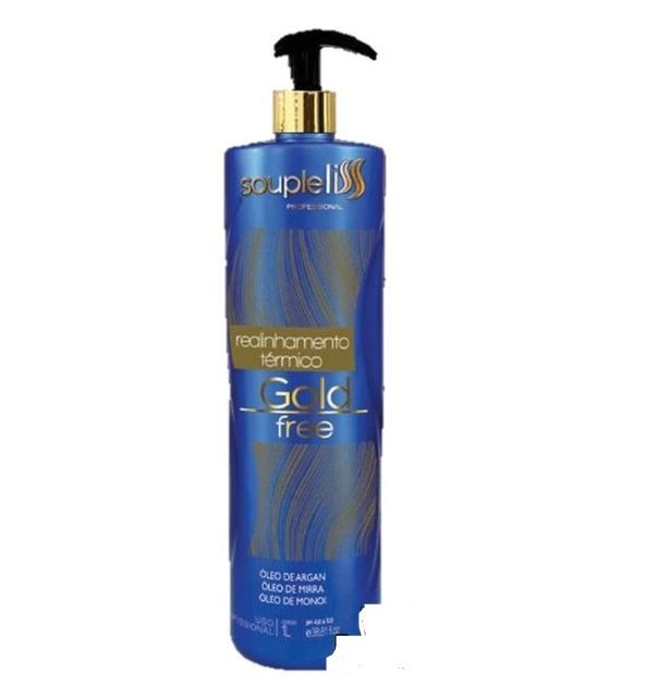 Progressiva - Realinhamento Térmico Gold Liss Blond - SoupleLiss 1 L
