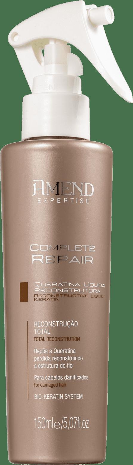 Queratina Liquida Reconstrutora Complete Repair Amend 150ml