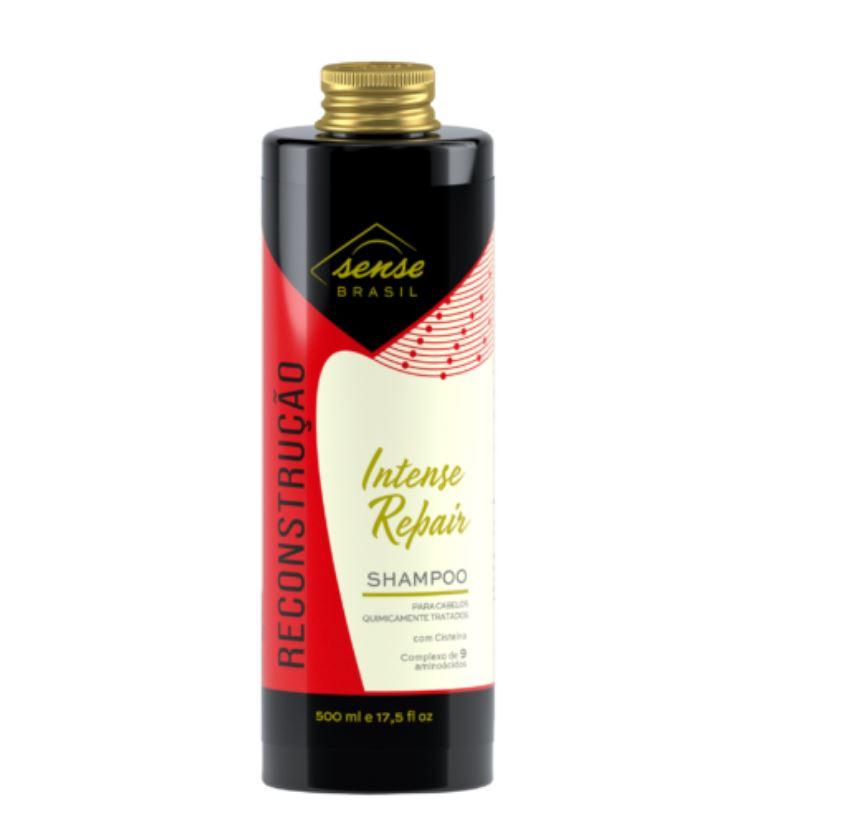 Shampoo de Reconstrução Intense Repair Sense Brasil 500ml