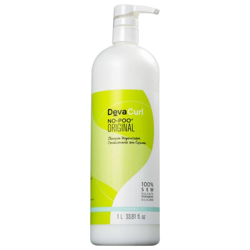 Shampoo Deva Curl No Poo Higienizador Condicionante sem Espuma 1000ml