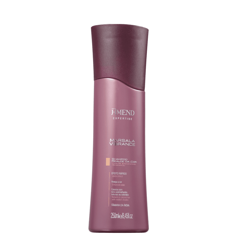 Shampoo Realce da cor Marsala Amend 250ml