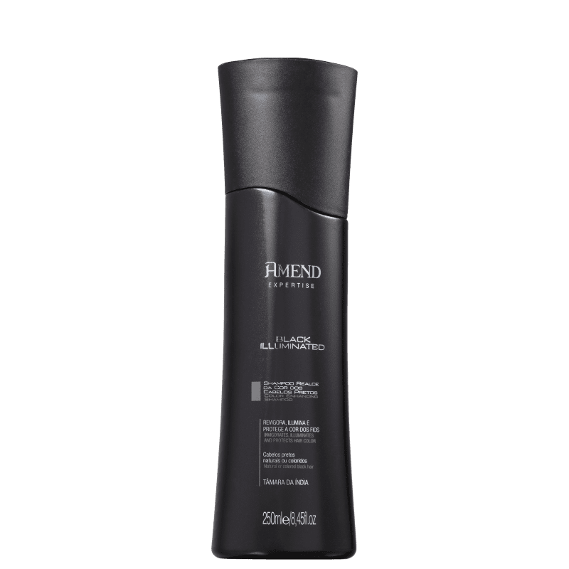 Shampoo Realce da cor Preto Amend 250ml