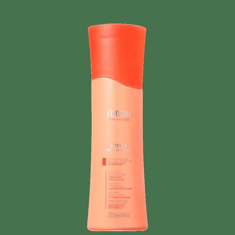 Shampoo Suavizante Liso Sem Quimica Amend 250ml