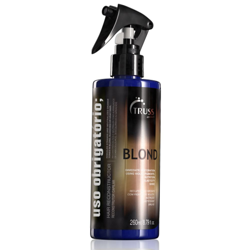 Uso Obrigatório BLOND TRUSS 260 ml