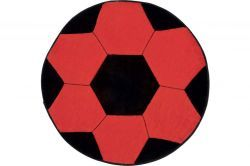Tapete Infantil de Pelúcia Bola de Futebol