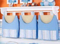 Porta Fraldas de Varão - Coleção Aventura - Azul