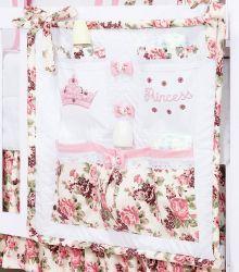 Porta Treco para Bebê - Coleção Princess - Rosa