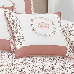 Almofada para Quarto de Bebê Coleção My Princess - Terracota