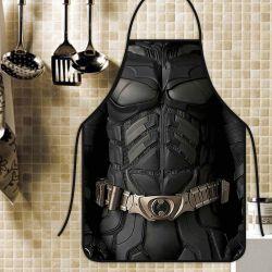 Avental Personalizado Tecido Microfibra Estampada  - Batman