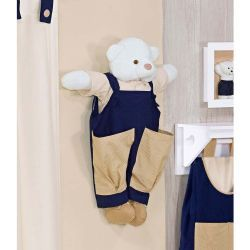Porta Fraldas Urso - Bear Marinho