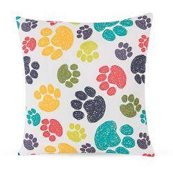 Capa para Almofada Print Creative Estampada Tecido Microfibra com Zíper - My Dog - Cor 2577