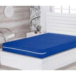 Kit de Capas para Colchão Solteiro Lipe 02 Peças 30cm Alt Tecido Microfibra - Azul Royal