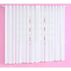 Cortina p/ Quarto de Bebê 2 Metros - Coleção Classic Rosa