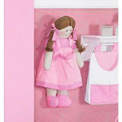 Porta Fraldas Boneca - Coleção Classic Rosa