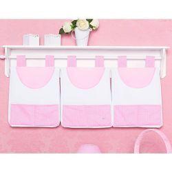 Porta Fraldas de Varão - Coleção Classic Rosa