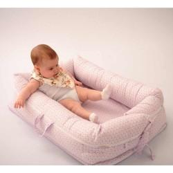 Colchonete Baby 01 Peça - 74cm x 45cm - Triângulo Rosa