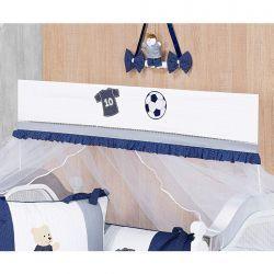 Mosquiteiro Varal Interno Padrão Americano Coleção Futebol - Azul