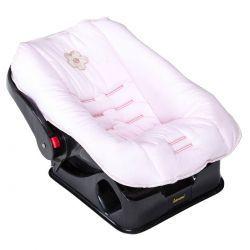 Capa de Bebê Conforto de Bebê Coleção Lacinhos Baby - Rosa