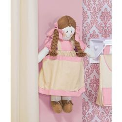 Porta Fraldas Boneca - Coleção My Princess Rose