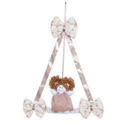 Enfeite de Porta para Quarto de Bebê - Coleção Nina Camponesa