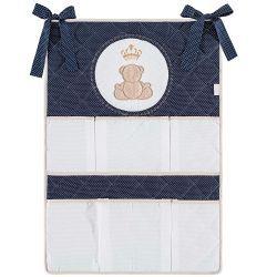 Porta Objetos para Berço de Bebê Realeza - Marinho