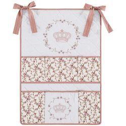 Porta Objetos para Berço de Bebê My Princess - Terracota