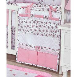 Porta Objetos para Berço de Bebê - Coleção Provence