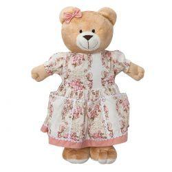 Porta Fraldas Boneca para Quarto de Bebê - Coleção Ursa Naná