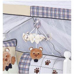 Móbile para Berço de Bebê Coleção Urso Nino - Azul