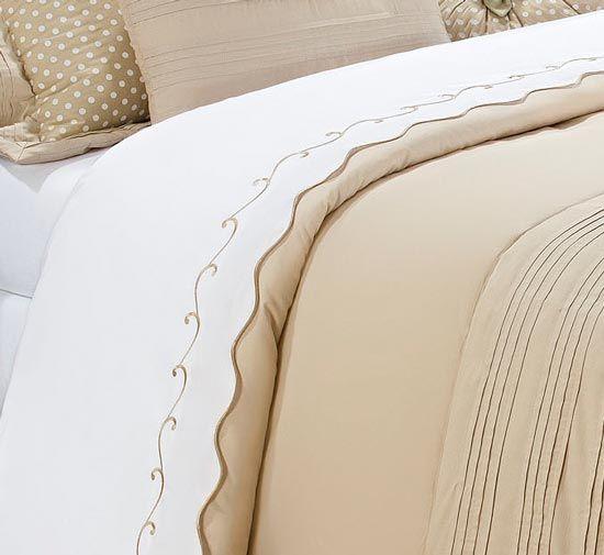 Coordenado Casal Queen Isadora 13 Peças - 100% Algodão 200 Fios - Lençol + Cobre Leito