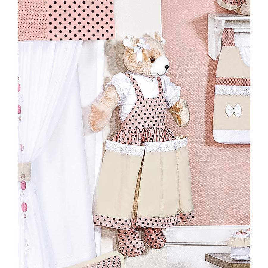 Porta Fraldas Urso - Coleção Aurora